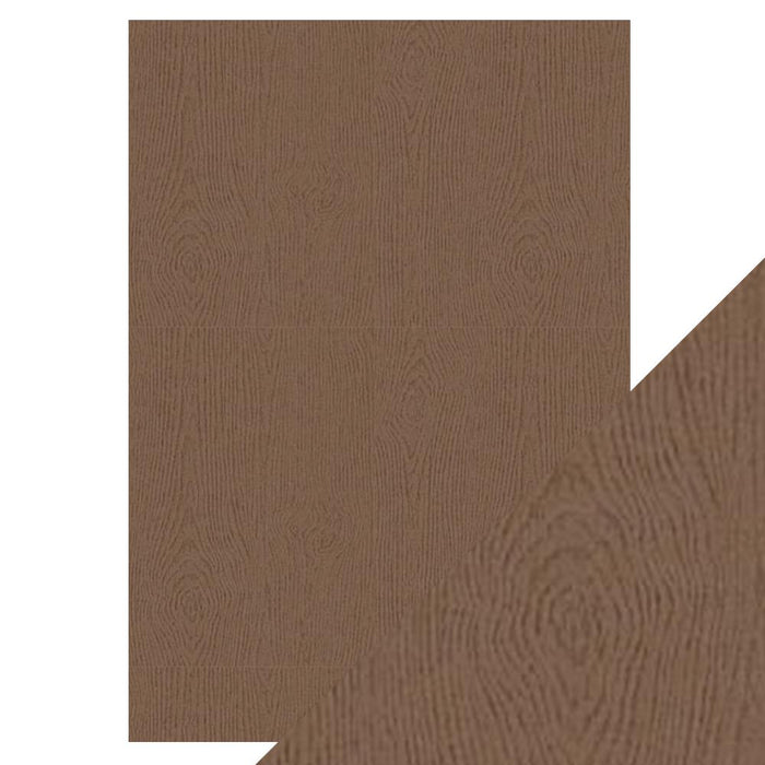 Craft Perfect - Speciality Paper - Oak Woodgrain - A4 - 9883E - tonicstudios