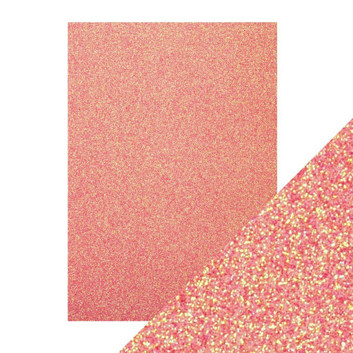 Craft Perfect - Glitter Card - Candy Floss - A4 (5/PK) - 9951e - tonicstudios