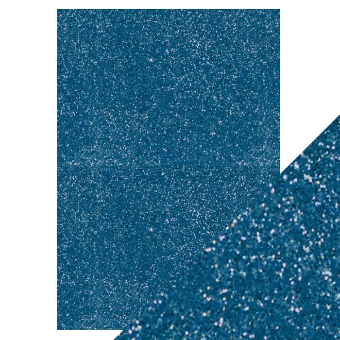 "Craft Perfect - Glitter Card - Cobalt Blue - 8.5"" x 11"" (5/PK)"