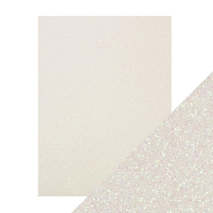 "Craft Perfect - Glitter Card - Sugar Crystal - 8.5"" x 11"" (5/PK) - 9968e - tonicstudios"