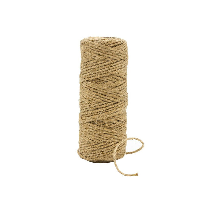 craft perfect striped bakers twine classic jute 1 5mm 25m