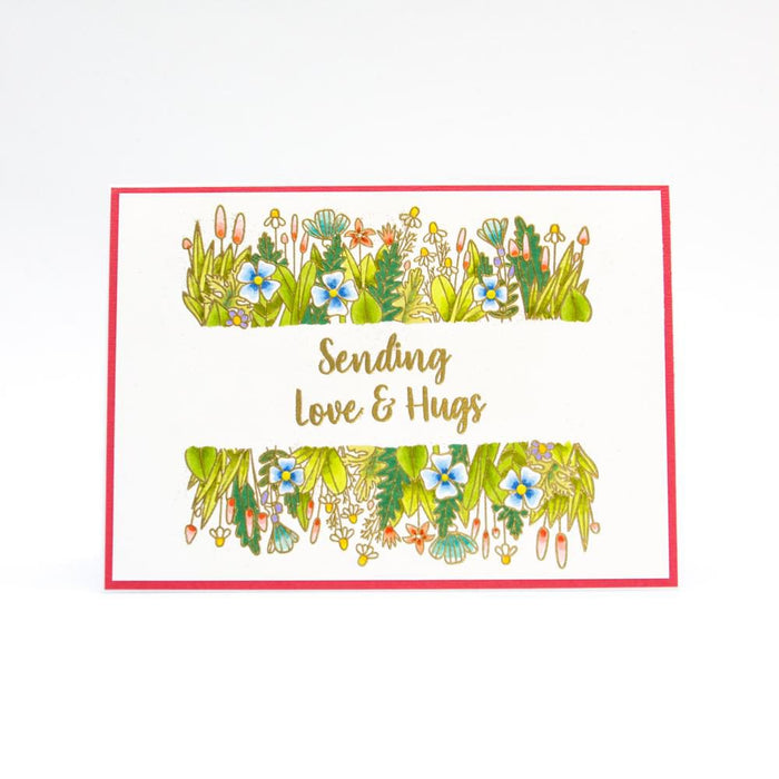 "Tonic Studios - Garden Party Stamps - Complete Bundle - 6""x 8"" / A5 - USB97"