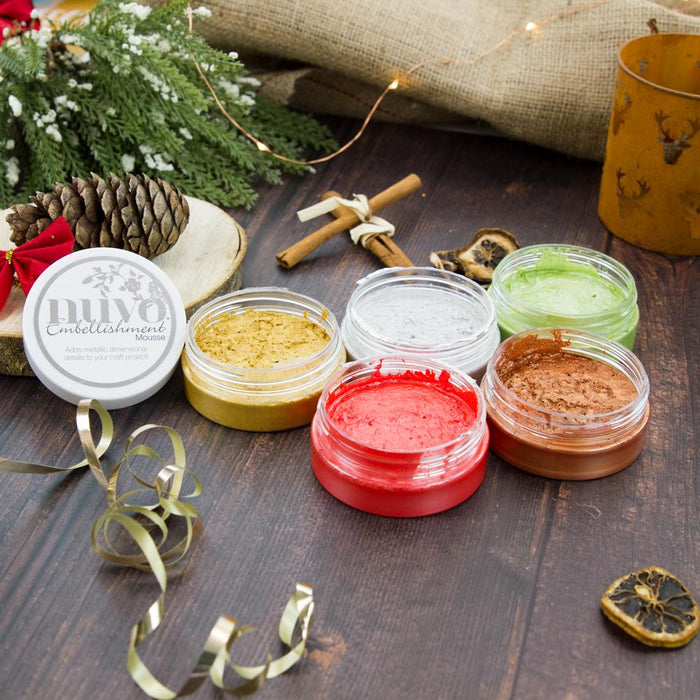 Nuvo - Embellishment Mousse - Classic Christmas - USB437