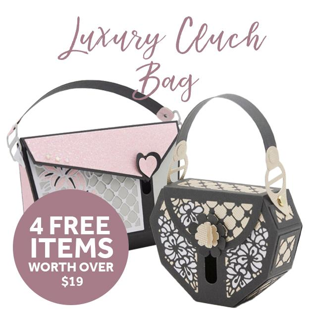 Tonic Studios - Luxury Clutch Die Set Collection - Plus 4 FREE Items - 269BB