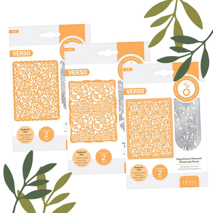 Tonic Studios - Patterned Panels Bundle - WED295