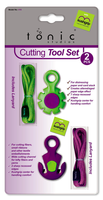 Tonic - Tools - 2 Piece Cutting Tool Set - 418