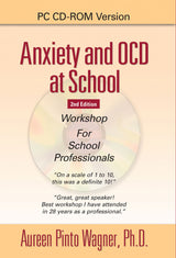 Dr. Aureen Pinto Wagner presents one of her most popular workshops for school professionals who treat children and teens with anxiety and obsessive compulsive disorder (OCD). She provides facts about OCD and cognitive behavioral therapy (CBT) training for professionals to address symptoms of anxiety.