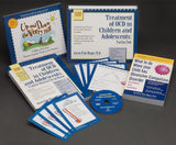 Dr. Aureen Pinto Wagner provides these OCD books and CD-ROM to address OCD disorder, anxiety in children and OCD in teenagers. She uses cognitive behavioral therapy (CBT) as a basis to treat anxiety and OCD and it is ideal way to provide OCD training for professionals in the treatment of OCD and anxiety in children.