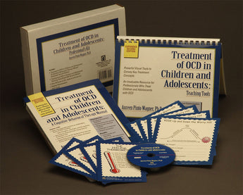 A book and CD-ROM set about the treatment of obsessive compulsive disorder (OCD) in children and adolescents using cognitive behavioral therapy (CBT). Helps therapists treat the symptoms of OCD and addresses other issues around OCD disorder.