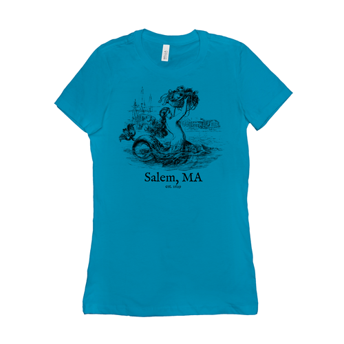 Salem Mermaid Shaped Fit T-Shirt