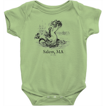 Salem Mermaid Baby Onesie