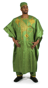 Exotic Embroidered Grand BouBou - B&R African Styles
