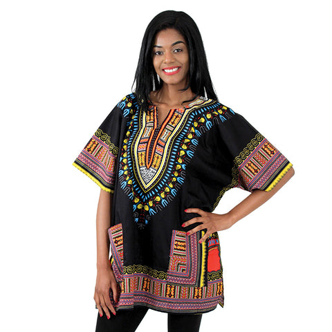Black Large Dashiki