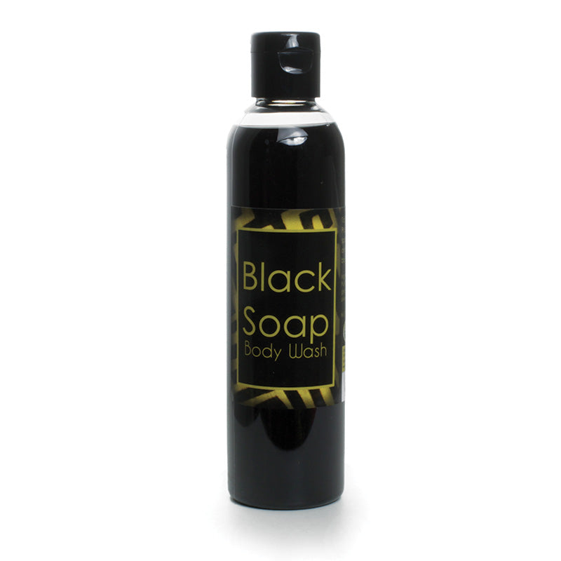 8 oz Liquid Body Wash/Black Soap - B&R African Styles