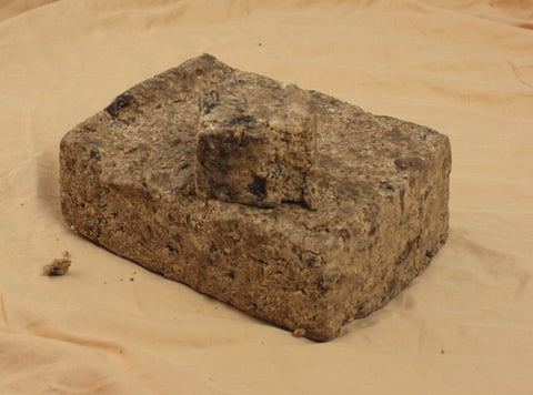 6 Pounds Natural Black Soap