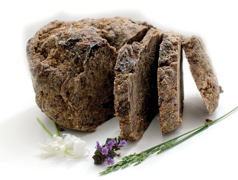 2 Pounds Natural Black Soap - B&R African Styles