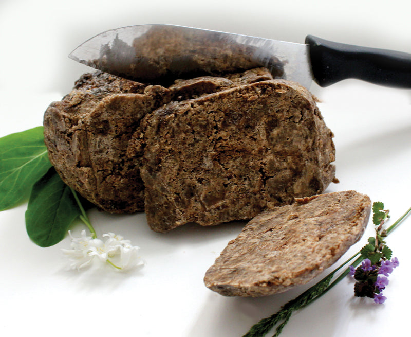1/2 Pound Natural Black Soap - B&R African Styles