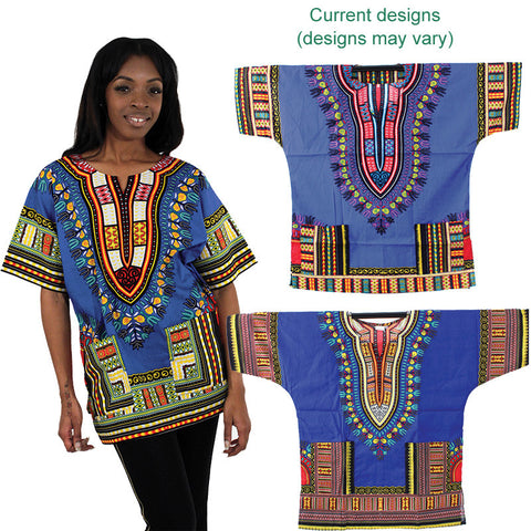 Small Blue Dashiki
