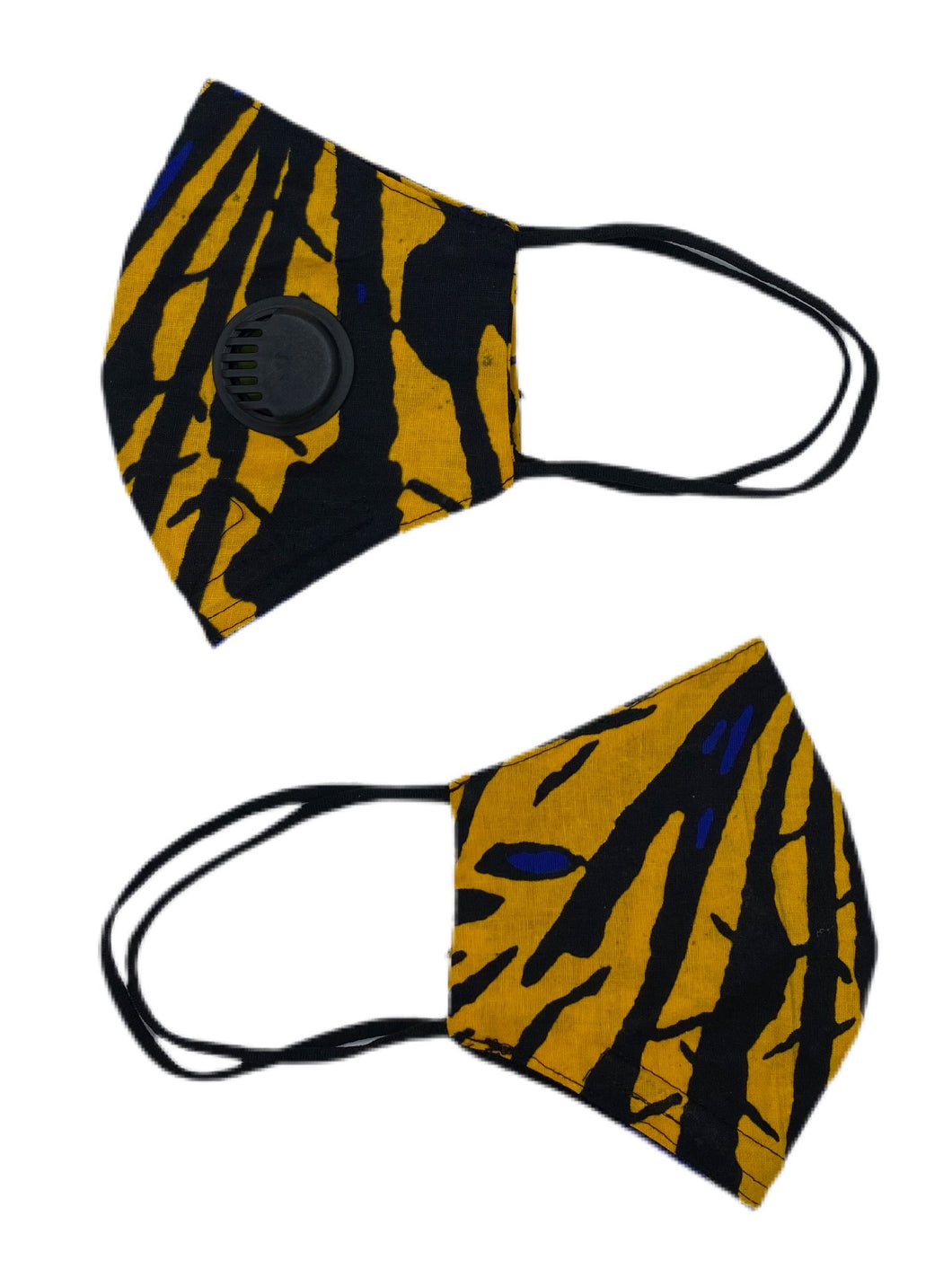 Face Mask With Respirator & Nose Clip