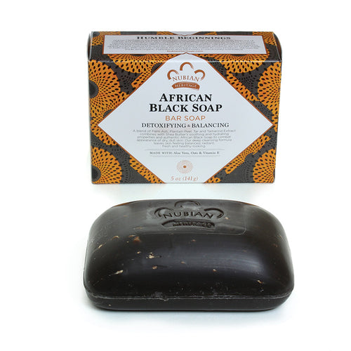 5 oz African Black Soap - B&R African Styles