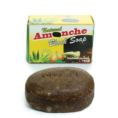 Case 48 Natural Amonche Soap - B&R African Styles