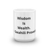 Wisdom Is Wealth
