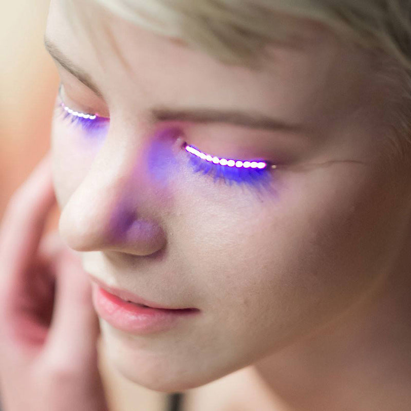 LED Eyelash With Battery - B&R African Styles