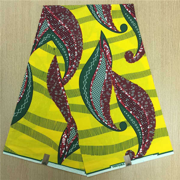African Hollandais Real Dutch Wax African Print Fabric Ankara Super Wax 6 Yards (Bitenge) - B&R African Styles