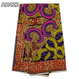 Super Wax Hollandais Ankara Fabric Wax Prints 100% Cotton 6yards - B&R African Styles