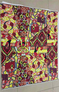 African Fabric Super Wax Hollandais - B&R African Styles
