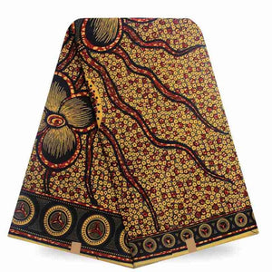 Super Hot Sale African Wax Fabric Super Wax Hollandais Prints Fabric 6 Yards - B&R African Styles