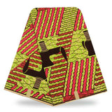African Wax Prints Fabric Super Wax hollandais - B&R African Styles