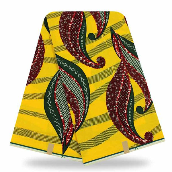 African Wax Fabric Super Wax Hollandais 6 Yards - B&R African Styles