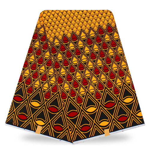 Wax Africain  Super Hollandais Wax Print Fabric 6 yards - B&R African Styles