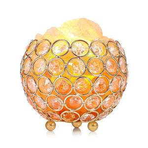 Natural Air Purifier Crystal Himalayan Salt Lamp  Switch warm Night Light - B&R African Styles