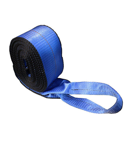 "4"" x 30' Strap Blue c/w Half Twisted Loop - 5400 lbs"