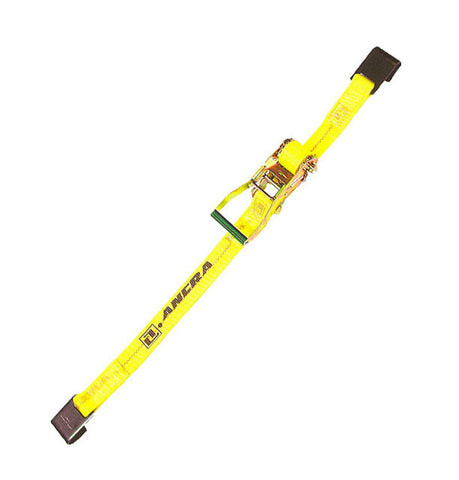 "2"" x 30' Ratchet Strap c/w Flat Hook"