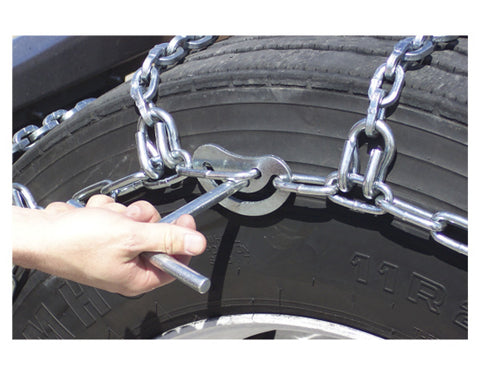 Tire Chains - Triple with V-Bar Link