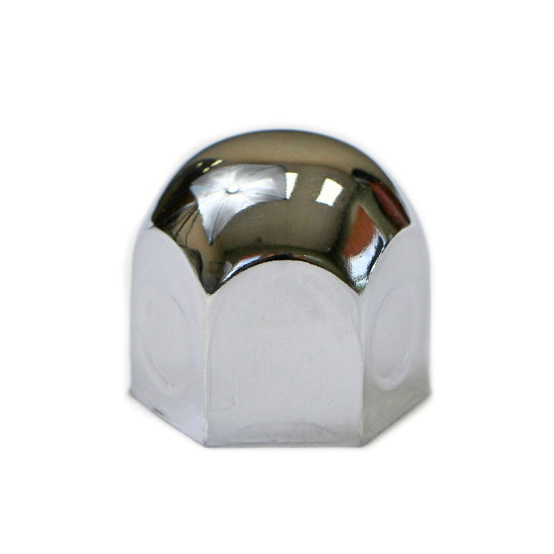 "1.25"" Chrome Nut Covers - Standard Style"