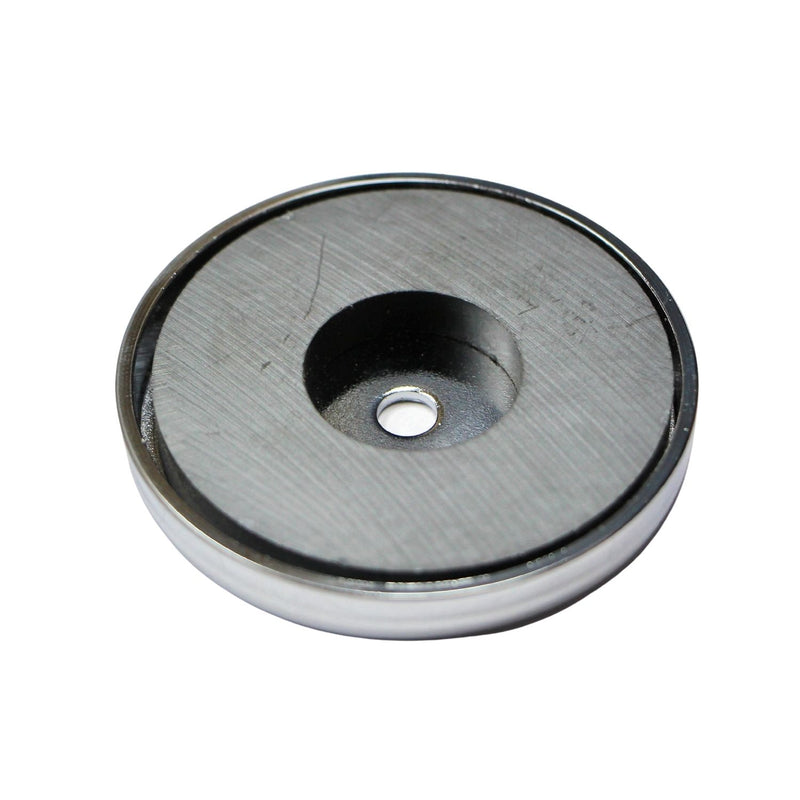 "Ceramic Round Base Magnet - 3.2"" OD"