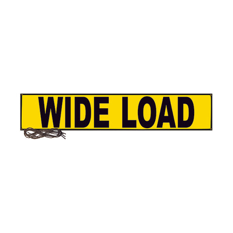 "Wide Load Mesh Banner - 18"" x 84"""