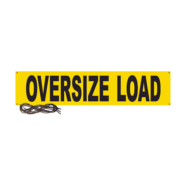 "Wide/Oversized Load Vinyl Banner - 14"" x 78"""