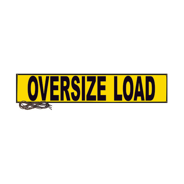 "Oversize Load Mesh Banner - 18"" x 84"""