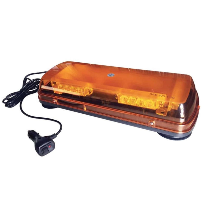 "Nightrider 17"" Class 1 LED Beacon Bar with 8 Amber Flashing Patterns"