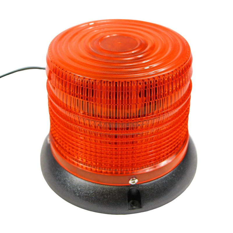 LED Light Strobe Beacon - Amber - 5-in. Round