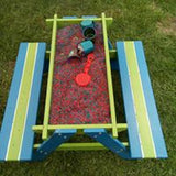 Sandbox Table and bench