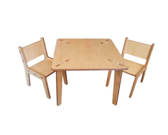 Kids Table and chair, 1-5 yr