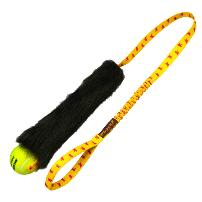 Sheepskin Bungee Chaser with Tennis Ball