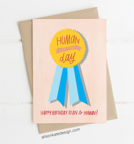 Human of the Day - Card