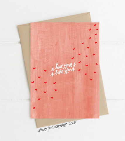 Love & Like - Card